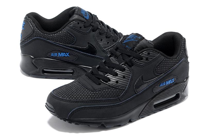 air max 90 nike noir et bleu homme,air max 90 bleu et noir - www ...